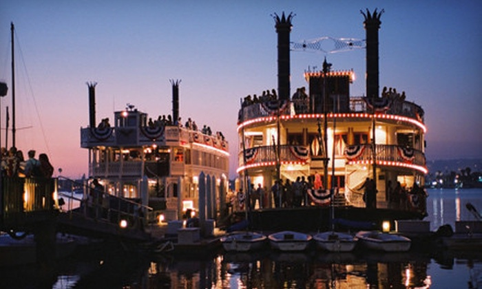 The Sternwheelers - Bahia Resort Hotel: Valentine's Day Singles Party Cruise for One, Two, or Four from The Sternwheelers (Half Off)