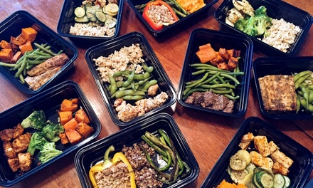 Up to 82% Off Prepared Meals w/ Personal Training at Meal Prep Las Vegas