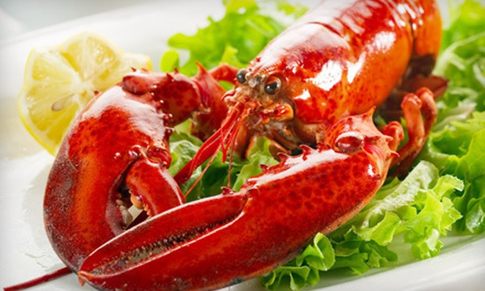 Lobster Bake for Two or Four, or 4, 6, or 10 Live Lobsters from GetMaineLobster.com (Up to 58% Off)