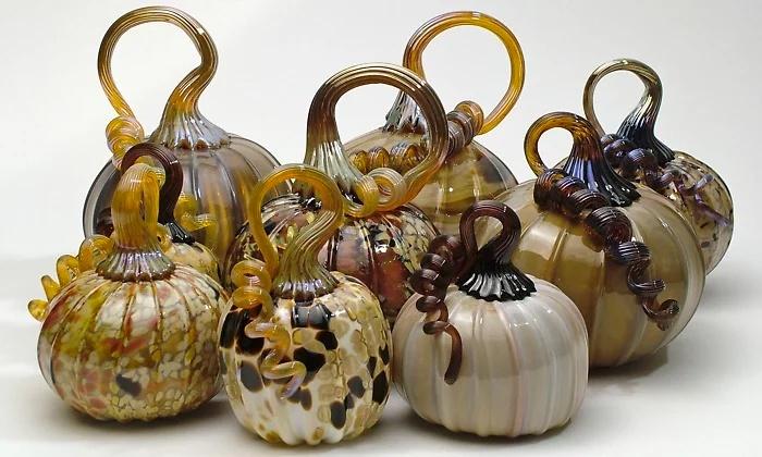 Half Moon Bay Art Glass - Half Moon Bay: Pumpkin or  Mini Pumpkin Glass-Blowing Class for One at Half Moon Bay Art Glass (Up to 51% Off)