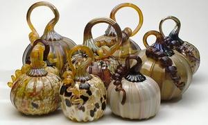 Half Moon Bay Art Glass: Pumpkin or  Mini Pumpkin Glass-Blowing Class for One at Half Moon Bay Art Glass (Up to 51% Off)