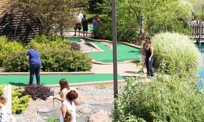 Big Don's Wild River Mini Golf - Cicero: Mini Golf and Outdoor Laser Tag at Big Don's Wild River Mini Golf (Up to 50% Off). Two Options Available.