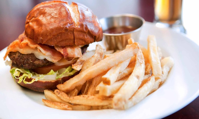 Emerson's Ale House - Mount Prospect: Burgers with Craft-Beer or Martini Flights for Two or Four at Emerson's Ale House (Up to 49% Off)