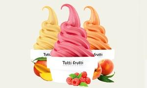 Tutti Frutti Frozen Yogurt: Frozen Yogurt at Tutti Frutti Frozen Yogurt (40% Off). Two Options Available.