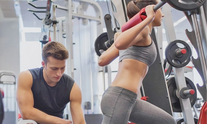 Palm Beach Gym & Fitness Center - Palm Beach Gym: One-, Two-, or Three-Month Gym Membership or Four Personal-Training Sessions at Palm Beach Gym (Up to 56% Off)