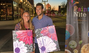 Up to 73% Off Paint Nite and Wine at Heartwood & Oak and Paint Nite, plus 9.0% Cash Back from Ebates.