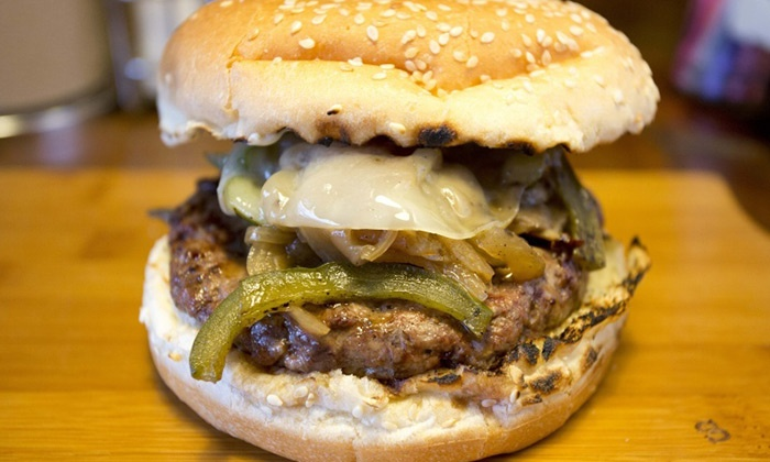 Baldwin Street Burgers - Whitby: Two or Four Gourmet Burgers at Baldwin Street Burger (42% Off)