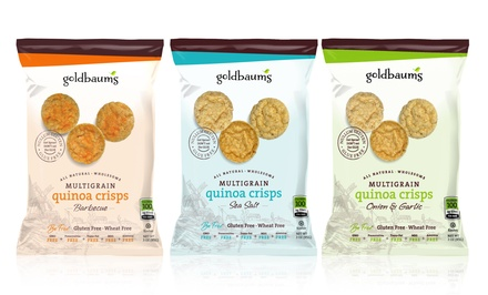 12-Pack of Multigrain Quinoa Crisps. Multiple Flavors Available.