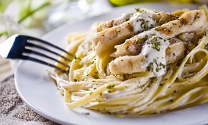 Oregano Italian Kitchen: Italian Food for Dinner at Oregano Italian Kitchen (Up to 43% Off). Two Options Available.