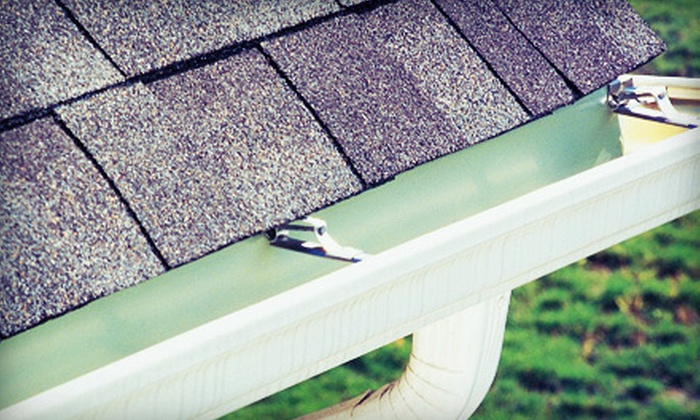 C.D. Northwest - Corbet - Terwilliger - Lair Hill: Gutter- and Roof-Cleaning Packages from C.D. Northwest (Up to 71% Off). Three Options Available.