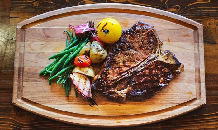 LeVilla Chophouse - Mission: Three-Course Dinner or Two-Course Lunch at LeVilla Chophouse (Up to 44% Off). Five Options Available.