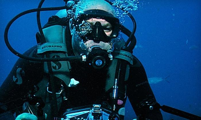 Jupiter Dive Center - Jupiter: Regular or Advanced PADI Open-Water-Dive Certification Course at Jupiter Dive Center (Up to 66% Off)