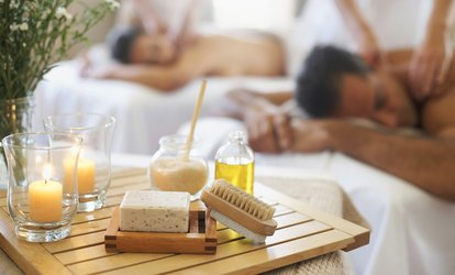image for $125 for 60-Minute <strong>Couples</strong> Spa Package at The Day Spa at the Medbery ($230 Value)