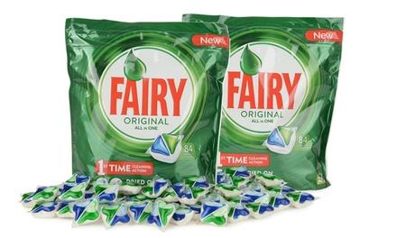 Fino a 504 tavolette Fairy All-in-One Regular per lavastoviglie