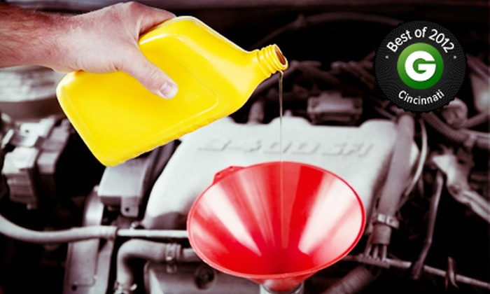 Grismer Tire & Auto Service Center - Grismer Tire: $17 for Oil-Change Package with 72-Point Inspection at Grismer Tire & Auto Service Center ($48.72 Value)