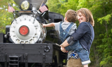 4-Train-Ride Tickets for Two or Four at Hesston Steam Museum (50% Off)