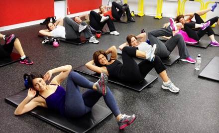 $39 for 10 Boot-Camp Classes at Me First Fitness (Up to 74% Off)
