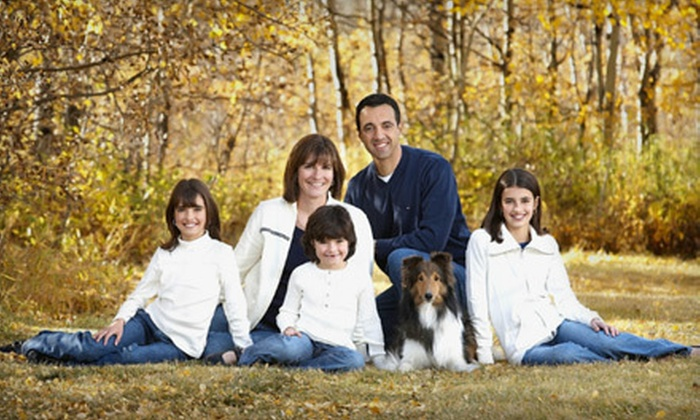 "Towne Photography - Northeast Calgary: $79 for a Family Photo Session and One Wall Portrait up to 11""x14"" from Towne Photography (Up to $630 Value)"