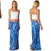 Women's Abstract Print Maxi Skirt