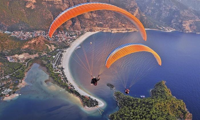 Atmosphere Paragliding - Atmosphere Paragliding: $199 for a Tandem Paragliding Flight at Atmosphere Paragliding ($300 Value)