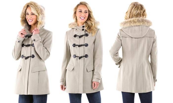 Marc Women's Wool Coat