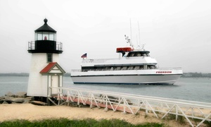 Freedom Cruise Line: Day Ferry Trip for Two to Nantucket in June, July, or September from Freedom Cruise Line (30% Off)