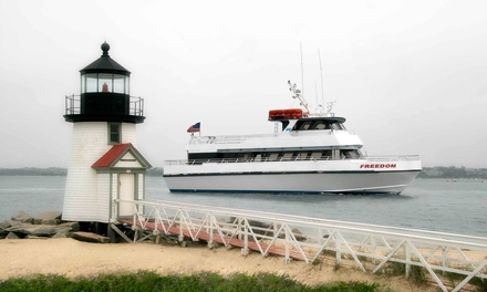 Day Ferry Trip for Two to Nantucket in June, July, or September from Freedom Cruise Line (30% Off)