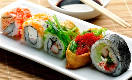 $15 for $30 Worth of Sushi and Pan-Asian Fare for Dinner at Emzy Sushi Bar and Asian Kitchen