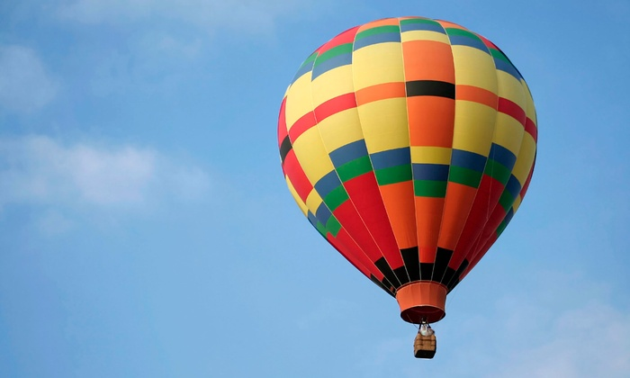 Balloon Quest - Holly-Fenton: Hot Air Balloon Ride for One, Two, or Four at Balloon Quest (Up to 51% Off). Six Options Available.