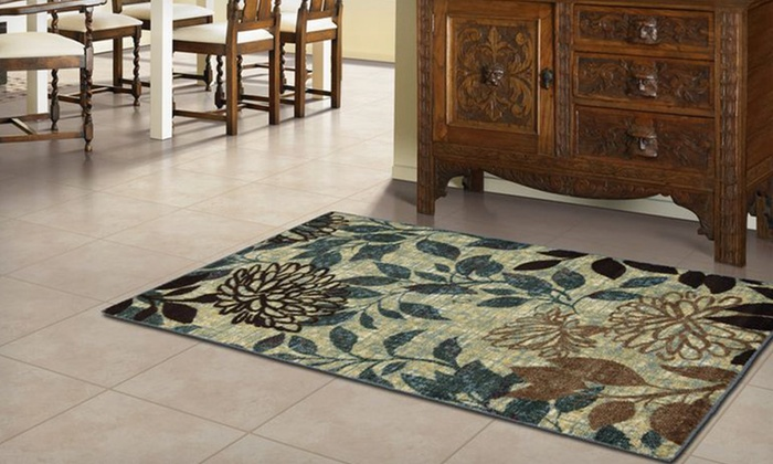 "Memory-Foam Accent Rugs: $29 for a 30""x45"" Memory-Foam Accent Rug ($79.99 List Price). 10 Styles Available."