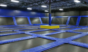 BOING! Jump Center: Trampolining and Video Gaming Session for One, Two, or Four at Boing! Jump Center (Up to 57% Off)