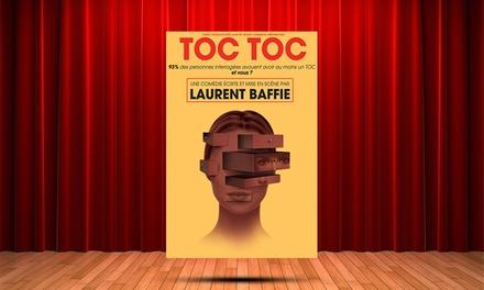 1 place en catégorie unique pour Toc toc, date au choix à 11 € à la Comédie de Nice