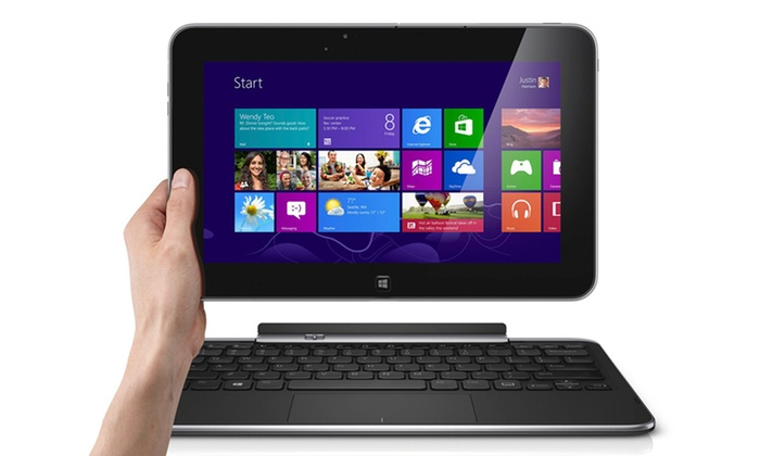 """Dell XPS 10 10.1"""" Windows RT Tablet with Keyboard Dock: Dell XPS 10 10.1"""" 64GB Tablet with Keyboard Dock (ManufacturedRefurbished) (XPS10-1564BK). Free Shipping and Returns."""