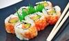 Kaminari Japanese Restaurant - Mid City South: Hibachi, Sushi, and Japanese Food at Kaminari (Up to 50% Off). Two Options Available.