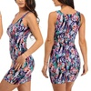 Juniors Women's Soft and Stretchy Summer Mini Dress (Size XL)