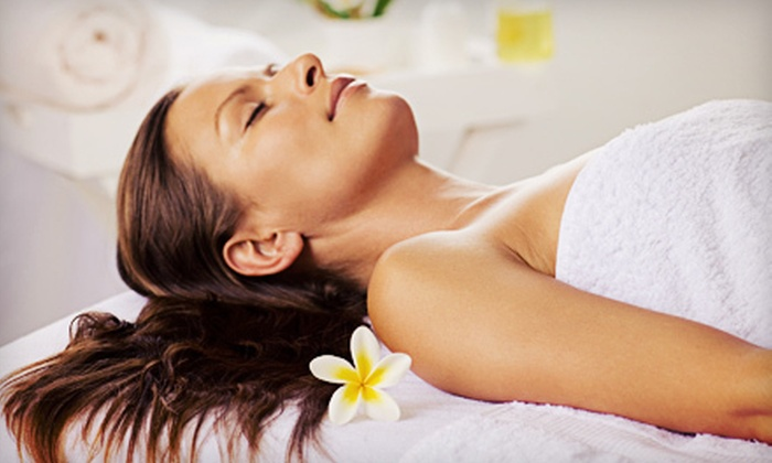 AJ'S Spa Millennium - Beachwood: $89 for Express Spa Package with Facial, Mani-Pedi, and Massage at AJ's Spa Millennium ($177 Value)