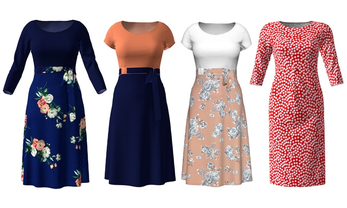 Clearance: Women\'s Summer Dress. Plus Sizes Available. | Groupon