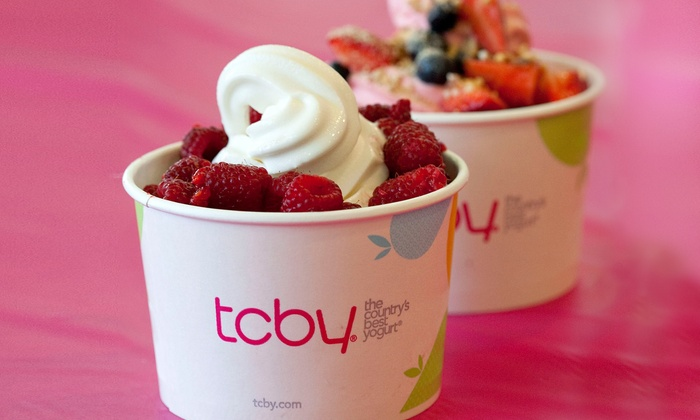 TCBY - Multiple Locations: $12 for Two Groupons, Each Good for $10 Worth of Frozen Yogurt at TCBY ($20 Total Value)