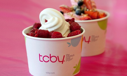 $12 for Two Groupons, Each Good for $10 Worth of Frozen Yogurt at TCBY ($20 Total Value)