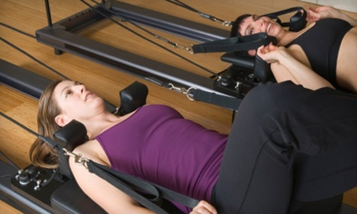 Austin Girl Pilates - Colorado Crossing: Three Private Sessions for One or Two at Austin Girl Pilates (Up to 71% Off)