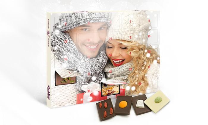 schoko adventskalender mit foto groupon goods. Black Bedroom Furniture Sets. Home Design Ideas