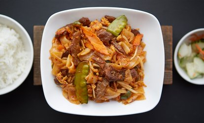 Two or Four Mains with Soft Drinks at Makan Absolute Asia (Up to 42% Off)