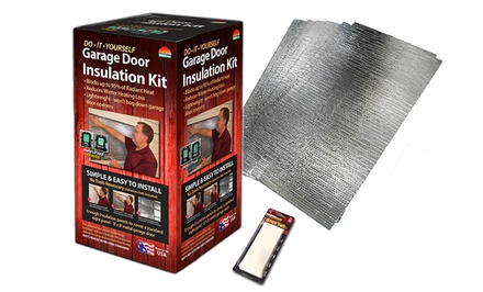 Reach Barrier Garage Door Insulation Kit