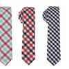 Skinny Tie Madness Plaid Skinny Ties