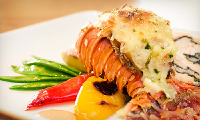 Bleu Violin - Harlem: $29 for Two Entrees and Two Drinks at Bleu Violin (Up to a $60 Value)