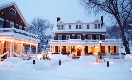 Stay at Kedron Valley Inn in Woodstock, VT, with Dates into April.