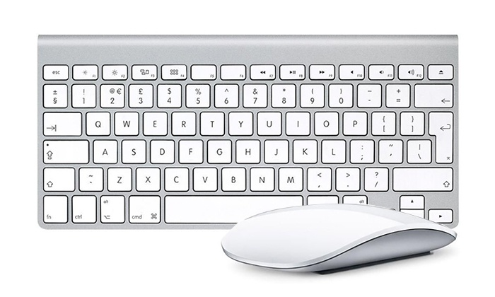 257fe762e76 Apple Mouse or Wireless Keyboard   Groupon