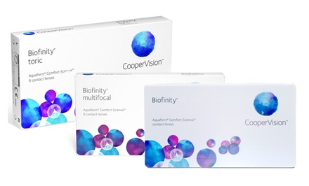 Biofinity Contact Lenses from PostalContacts.com
