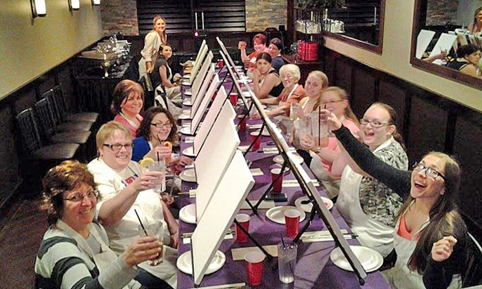 Paint and Pour - Multiple Locations: $24.99 for Two-Hour Painting Class for One at any Paint and Pour Venue ($35 Value)