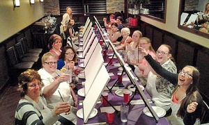 Paint and Pour: $16.99 for Two-Hour Painting Class for One at any Paint and Pour Venue ($35 Value)